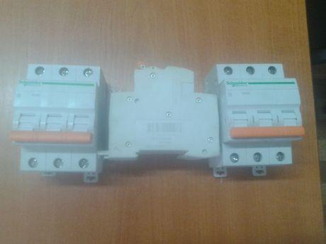 Автоматический выключатель(тройной) Schneider BA63 / 4,5