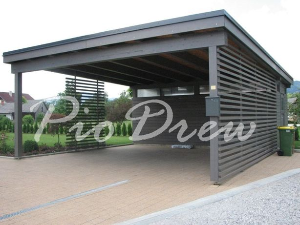 Carport ,garaz drewniany, wiata garażowa ,zadaszenie