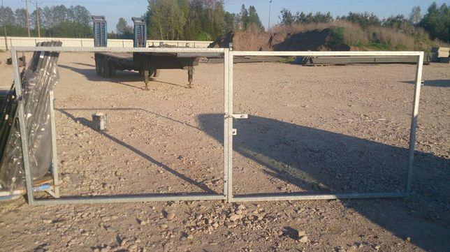 brama bramka ocynk panele ogrodzenie tanio 4m x 1,5m TANIO