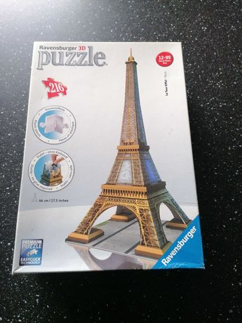 Puzzle 3D wieża Eiffla