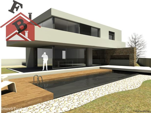 Terreno 1.100M2 Construção Moradia Luxo 4 Frentes Pedroso Carvalhos