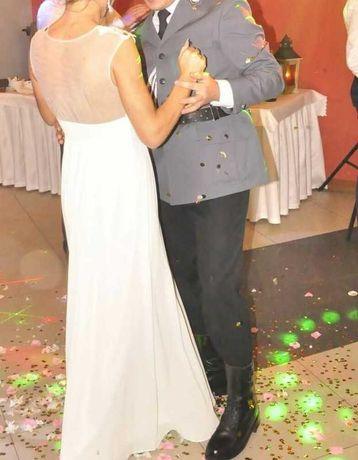Suknia ślubna dluga