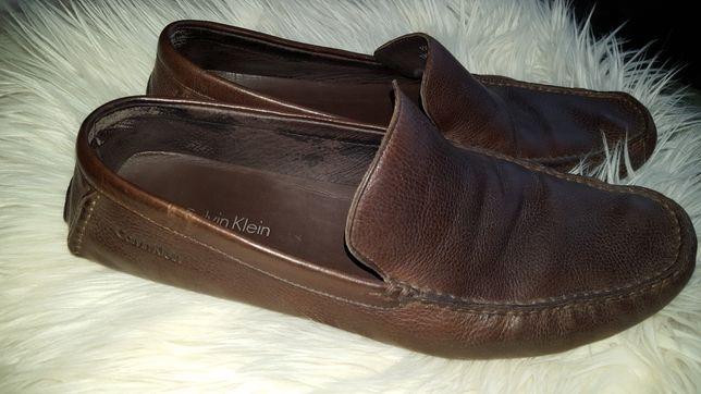 Sprzedam skórzane buty Calvin Klein w rozmiarze 11,5 /43