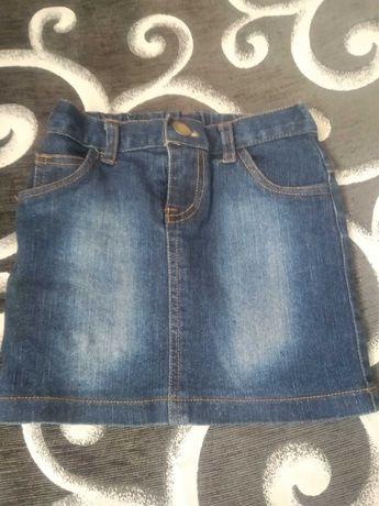 Spódniczka jeansowa 104