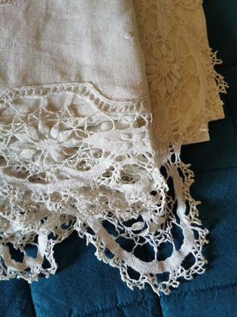 Lindo lençol de linho antigo