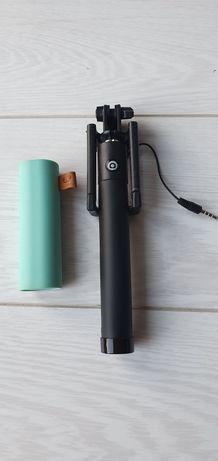 Kijek Selfie stick + powerbank power bank
