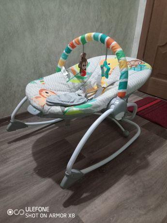 Кресло-шезлонг Bright Starts Safari
