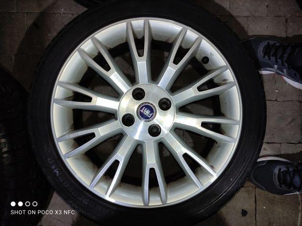 Диски 4x100 R17 FIAT 51797477 6.5JX17 ET46 ЦО56.6 з літн.шинами