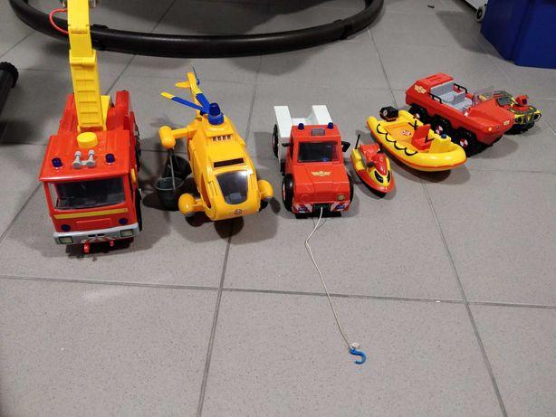 Strażak sam, komplet pojazdów