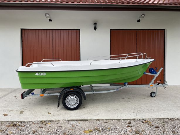 Łódka Roma 430 Reling 4 x schowki Transport