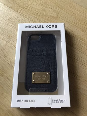 Etui/obudowa z kieszeniami Michael Kors na telefon iPhon 5,5s,SE.NOWE.