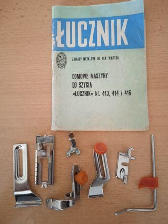 Instrukcja plus Stopki do Starej Maszyny Łucznik