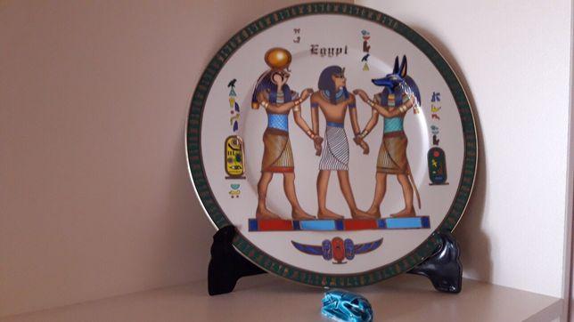 Декоративная тарелка Египет сувенир блюдо 30*30см Єгипет тарілка