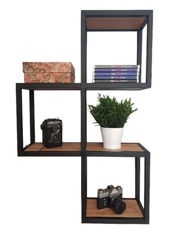 Półka Cube Trio-Loft indsutrialna
