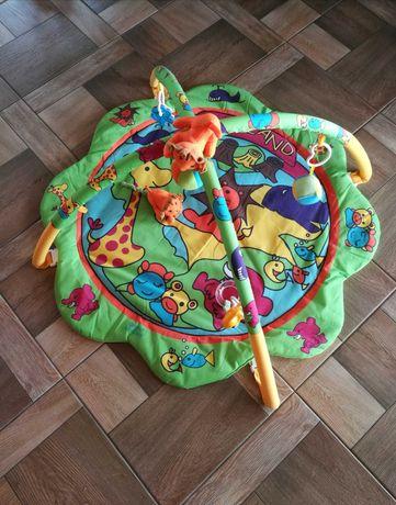 Mata edukacyjna dla niemowlaka + karuzela