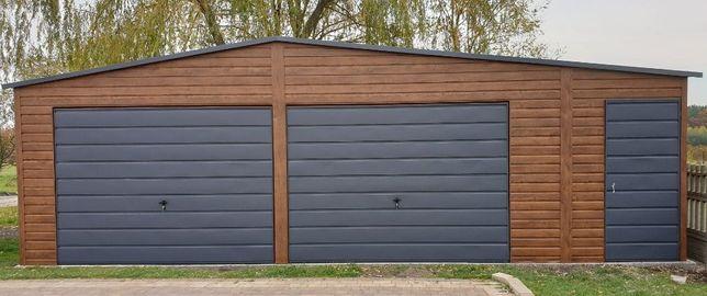 Producent garaży blaszanych wiat hal garazy Oferujemy