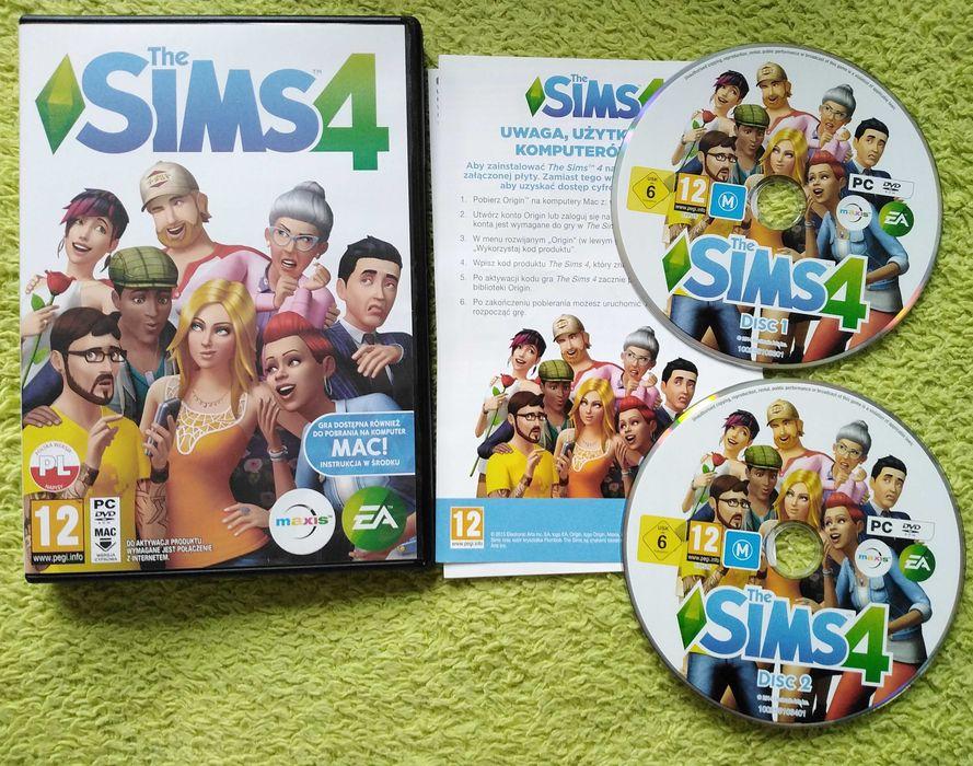 The Sims 4 gra PC dwie płyty Poznań - image 1