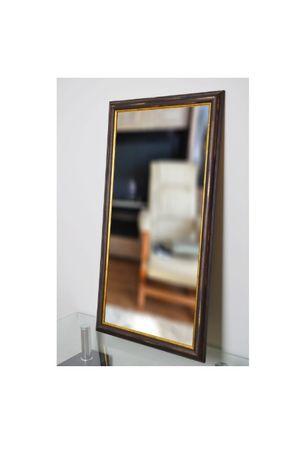 Piękne lustro 5502 w kolorze miedzi 40x120 cm