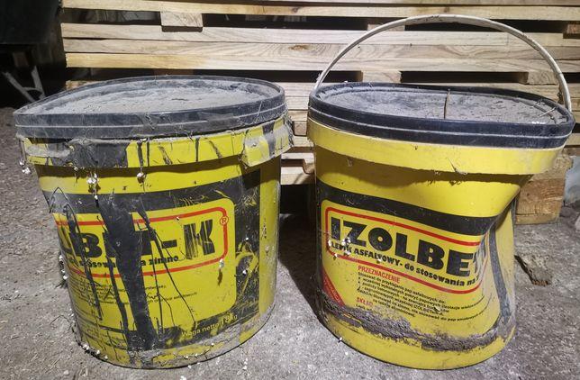 Lepik asfaltowy na zimno Izolbet K 2x 18kg.