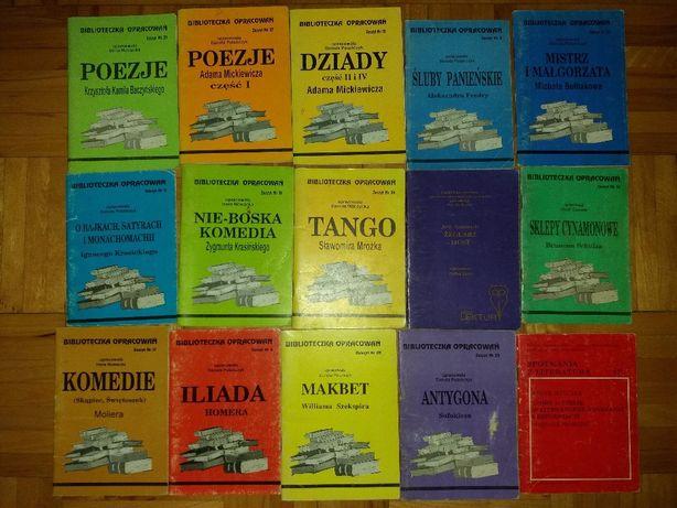 Opracowania lektur / Biblioteczka opracowań