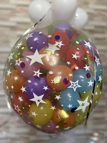 Шар-сюрприз Харьков, воздушные шары, подарок Харьков