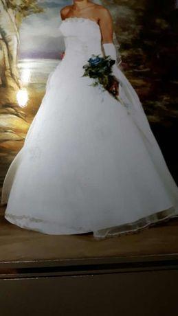 Suknia ślubna roz. S