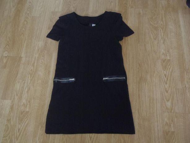 Sukienka trapezowa H&M r 36 s zip stan idealny