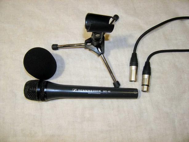 репортерский микрофон Sennheiser MD 46