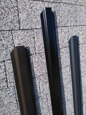 Sztachety metalowe / docinane na wymiar / różne kolory
