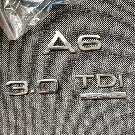 Emblematy a6 c6, 3.0 tdi