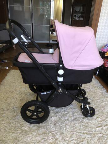 коляска 2в1  Bugaboo cameleon 3 soft pink со всеми аксесуарами