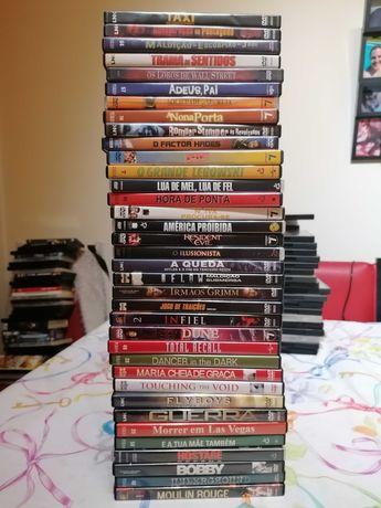 BAIXA DE PREÇO! Lote com 72 dvd (filmes)