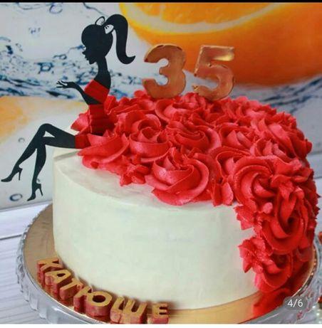 Topper na tort dziewczyna