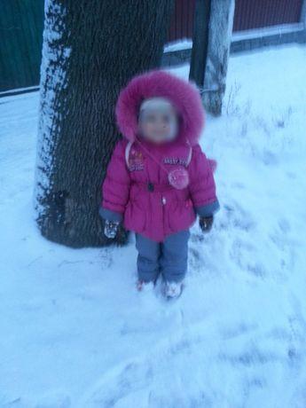 Зимний комбинезон штаны куртка зимова