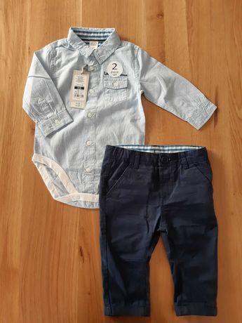 body koszulowe +spodnie