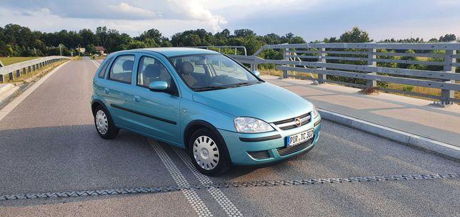 Opel corsa c 1.4 HB 5D lift 131tkm!!.z De.opŁ.gw.prz,klima,webasto,