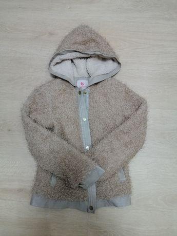 Тёплая кофточка (курточка) на девочку