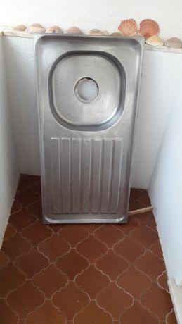 Cuba lava louça escorredor inox