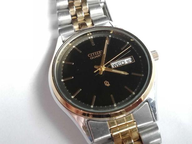 Sprzedam ładny garniturowy zegarek Citizen Quartz dual data