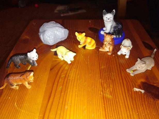 Zestaw gumowych kotków