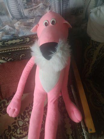 Розовая пантера мягкая игрушка с рост человека.