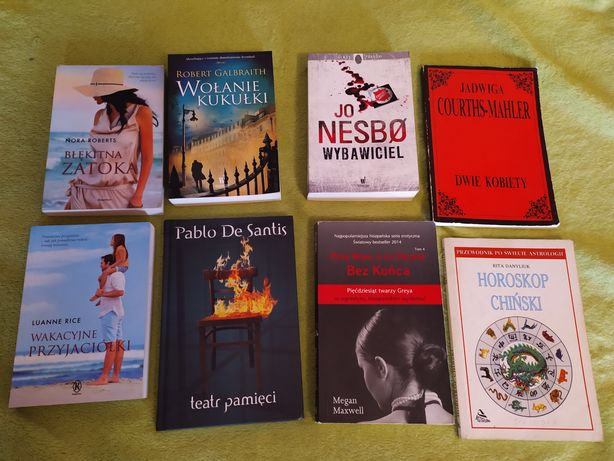 Książki 9 zł sztuka. Nowe i używane