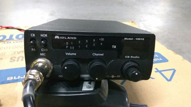 Zestaw cb radio Midland + antena Yosan