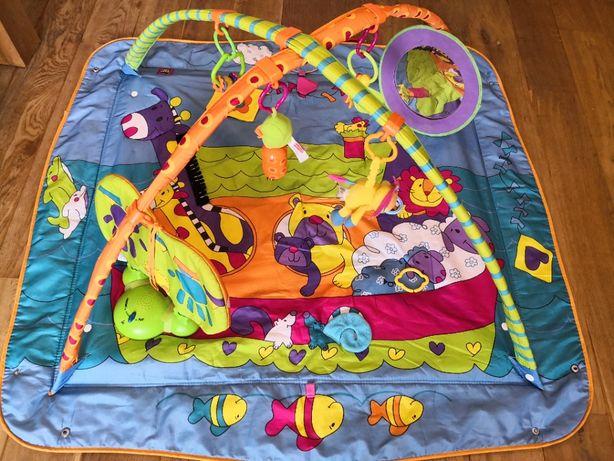 Tiny Love Mata edukacyjna z lusterkiem, zabawkami i muzyczką + GRATIS