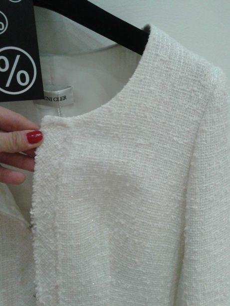Kostium Chanel ka Deni Cler nowy piękny na prezent 36