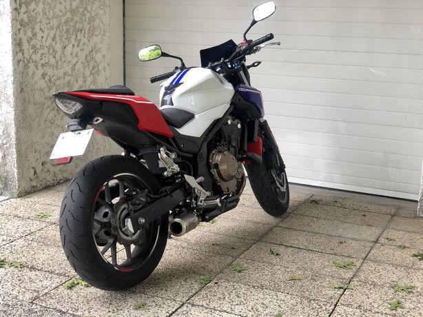 Honda cb500f versão ABS