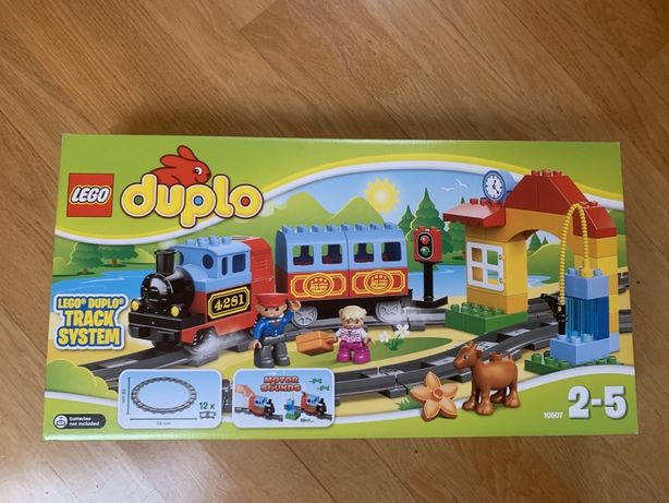 Lego duplo 10507 поезд