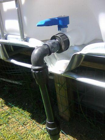 Adaptador P/ torneiras depósitos de 1000 litros