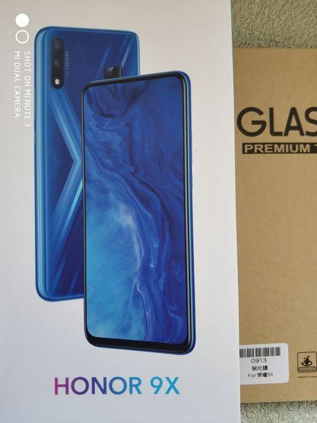 Huawei Honor 9x новый global (4/128Гб, Kirin 710F) + стекло