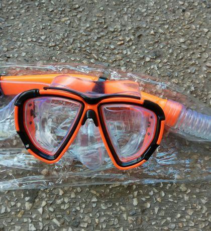 Nowy zestaw do nurkowania maska+fajka